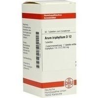 ARUM TRIPHYLL D12, 80 ST, Dhu-Arzneimittel GmbH & Co. KG