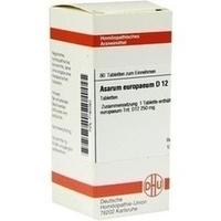 ASARUM EUROPAEUM D12, 80 ST, Dhu-Arzneimittel GmbH & Co. KG