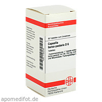 CAPSELLA BUR. PAST. D 6, 80 ST, Dhu-Arzneimittel GmbH & Co. KG