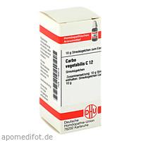CARBO VEGETABILIS C12, 10 G, Dhu-Arzneimittel GmbH & Co. KG