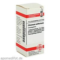 CHININUM SULFURICUM D 4, 10 G, Dhu-Arzneimittel GmbH & Co. KG
