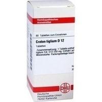 CROTON TIGLIUM D12, 80 ST, Dhu-Arzneimittel GmbH & Co. KG