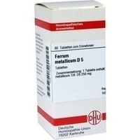 FERRUM MET D 5, 80 ST, Dhu-Arzneimittel GmbH & Co. KG