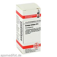 GINKGO BILOBA D 6, 10 G, Dhu-Arzneimittel GmbH & Co. KG