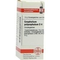 GNAPHALIUM POLYC D 4, 10 G, Dhu-Arzneimittel GmbH & Co. KG