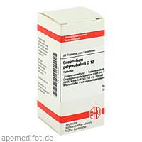GNAPHALIUM POLYC D12, 80 ST, Dhu-Arzneimittel GmbH & Co. KG