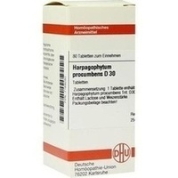 HARPAGOPHYTUM PROCUM D30, 80 ST, Dhu-Arzneimittel GmbH & Co. KG