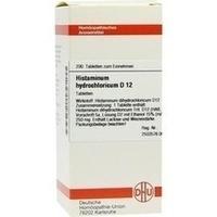 HISTAMINUM HYDROCHLOR D12, 200 ST, Dhu-Arzneimittel GmbH & Co. KG