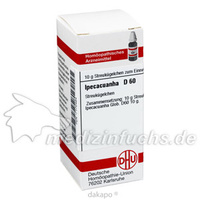 IPECACUANHA D60, 10 G, Dhu-Arzneimittel GmbH & Co. KG