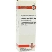 JUSTICIA ADHAT D 6, 20 ML, Dhu-Arzneimittel GmbH & Co. KG