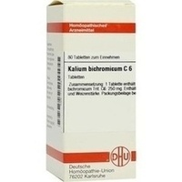KALIUM BICHROM C 6, 80 ST, Dhu-Arzneimittel GmbH & Co. KG