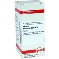 KALIUM PHOSPHORICUM C 6 Tabletten, 80 ST, DHU-Arzneimittel GmbH & Co. KG