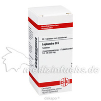 LEPTANDRA D 6, 80 ST, Dhu-Arzneimittel GmbH & Co. KG