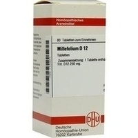 MILLEFOLIUM D12, 80 ST, Dhu-Arzneimittel GmbH & Co. KG