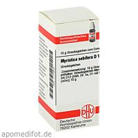 MYRISTICA SEBIFERA D12, 10 G, Dhu-Arzneimittel GmbH & Co. KG