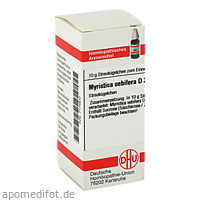 MYRISTICA SEBIFERA D30, 10 G, Dhu-Arzneimittel GmbH & Co. KG