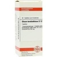 OLEUM TEREBINTHINAE D12, 80 ST, Dhu-Arzneimittel GmbH & Co. KG