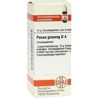 PANAX GINSENG D 4, 10 G, Dhu-Arzneimittel GmbH & Co. KG