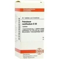 PETROLEUM RECTIFICATUM D 30 Tabletten, 80 ST, DHU-Arzneimittel GmbH & Co. KG