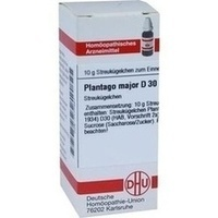 PLANTAGO MAJOR D30, 10 G, Dhu-Arzneimittel GmbH & Co. KG
