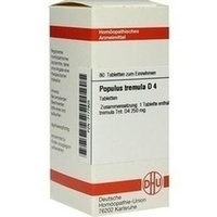 POPULUS TREMULA D 4, 80 ST, Dhu-Arzneimittel GmbH & Co. KG