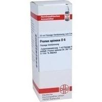 PRUNUS SPINOS D 6, 20 ML, Dhu-Arzneimittel GmbH & Co. KG