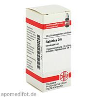 RATANHIA D 6, 10 G, Dhu-Arzneimittel GmbH & Co. KG