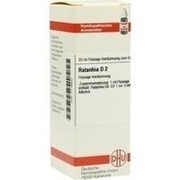 RATANHIA D 2, 20 ML, Dhu-Arzneimittel GmbH & Co. KG