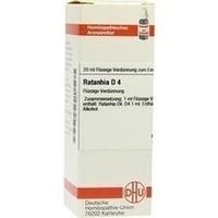 RATANHIA D 4, 20 ML, Dhu-Arzneimittel GmbH & Co. KG