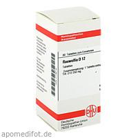 RAUWOLFIA D12, 80 ST, Dhu-Arzneimittel GmbH & Co. KG