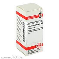 SABAL SERRULATUM D12, 10 G, Dhu-Arzneimittel GmbH & Co. KG