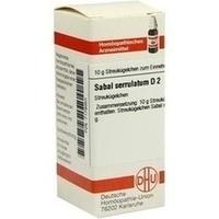SABAL SERRULATUM D 2, 10 G, Dhu-Arzneimittel GmbH & Co. KG