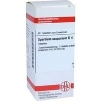SPARTIUM SCOPARIUM D 4, 80 ST, Dhu-Arzneimittel GmbH & Co. KG