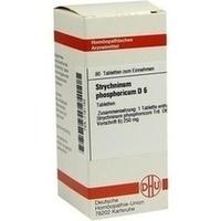 STRYCHNINUM PHOS D 6, 80 ST, Dhu-Arzneimittel GmbH & Co. KG