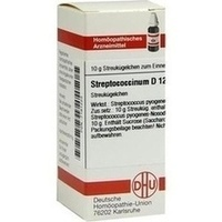 STREPTOCOCCINUM D12, 10 G, Dhu-Arzneimittel GmbH & Co. KG