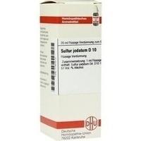 SULFUR JODAT D10, 20 ML, Dhu-Arzneimittel GmbH & Co. KG