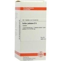 SULFUR JODATUM D 5, 200 ST, Dhu-Arzneimittel GmbH & Co. KG