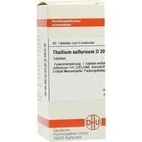 THALLIUM SULF D30, 80 ST, Dhu-Arzneimittel GmbH & Co. KG