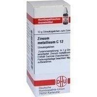 ZINCUM METALLICUM C12, 10 G, Dhu-Arzneimittel GmbH & Co. KG