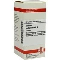 ZINCUM METALLICUM C 4, 80 ST, Dhu-Arzneimittel GmbH & Co. KG