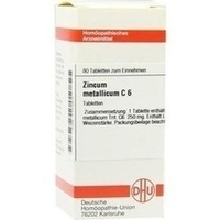ZINCUM METALLICUM C 6, 80 ST, Dhu-Arzneimittel GmbH & Co. KG