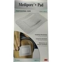 Medipore + Pad 3M 10cmx20cm, 5 ST, 3M Medica Zwnl.d.3M Deutschl. GmbH