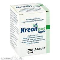 Kreon 10000, 50 ST, Mylan Healthcare GmbH