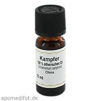 Kampfer 100% Ätherisches Öl, 10 ML, Apotheker Bauer & Cie.