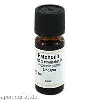 Patchouli 100% Ätherisches Öl, 10 ML, Apotheker Bauer & Cie.