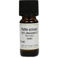 Pfeffer schwarz 100% Ätherisches Öl, 10 ML, Apotheker Bauer & Cie.