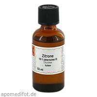 Zitrone 100% Ätherisches Öl, 50 ML, Apotheker Bauer & Cie.
