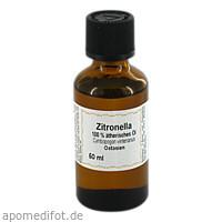 Zitronella 100% Ätherisches Öl, 50 ML, Apotheker Bauer & Cie.