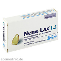 NENE LAX 1.5 SCHULKINDER UND ERWACHSENE, 6 ST, Dentinox Gesellschaft für pharmazeutische Präparate