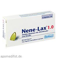 NENE LAX 1.0 KLEINKINDER UND KINDER, 6 ST, Dentinox Gesellschaft für pharmazeutische Präparate